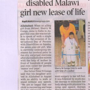 Cerebral Palsy Malawi Africa